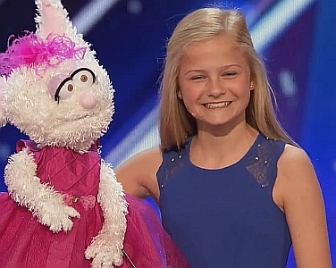 Darci Lynne on America's got Talent